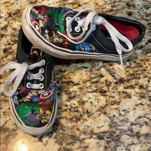 Boys Vans Marvel shoes